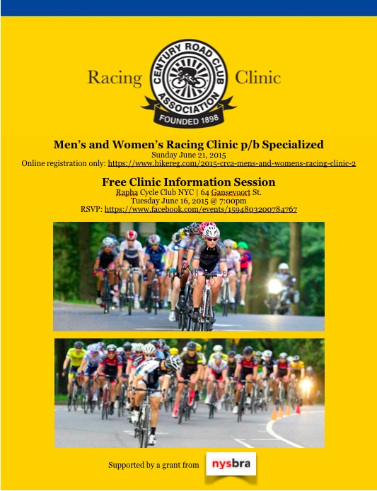 CRCA 2015 June Clinic Flyer