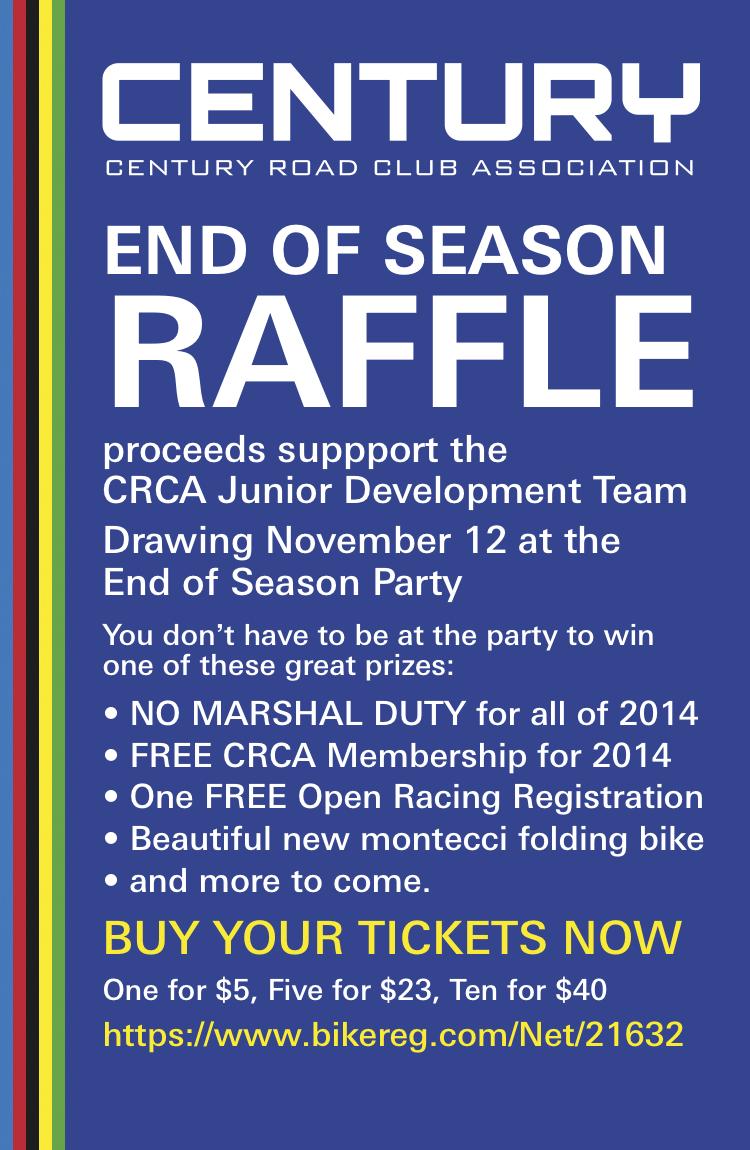 CRCA Raffle Poster