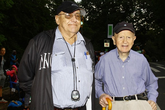 Mr. John Issendorf (l) and Mr. Fred Mengoni (r) at the 2011 edition of the Mengoni Grand Prix - photo by Marco Quezada