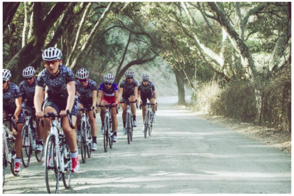 Team Training, courtesy of Velocio Sports