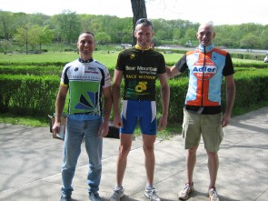 35+ 3rd Place Edward Angeli, winner David Freifelder and 2nd place Ken Harris