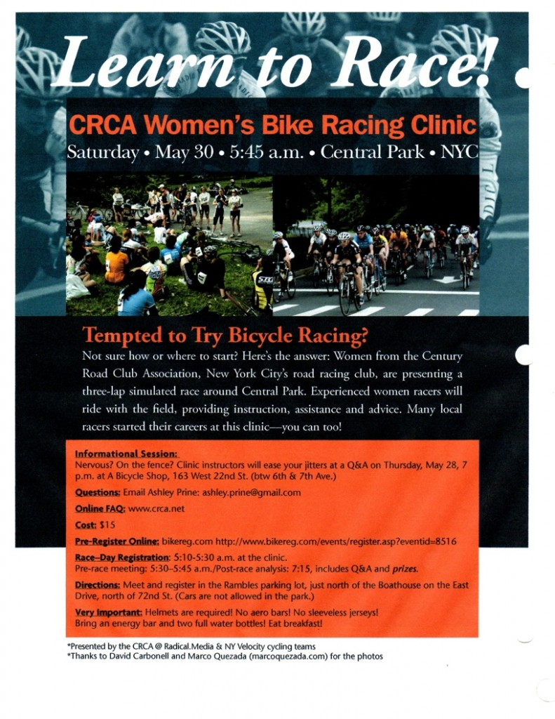 Women's Clinic Flyer